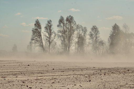 Sandstorm, Sand, Dune, Travel, Landscape, Nature