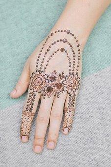 Hand, Skin, Tattoo, Bridal, Bride, Color, Fashion