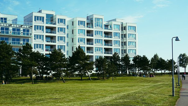 Building, Residence, Architecture, Sweden, Apartments