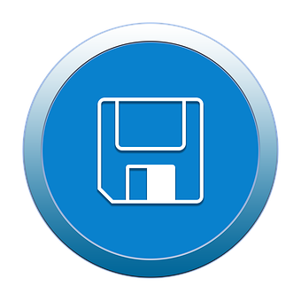 Save, Icon, Button, Symbol, Business