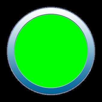 Button, Icon, Green, Go, Start, Sign, Symbol