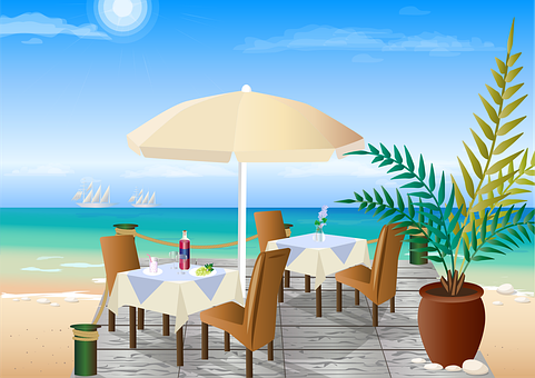 Restaurant, Beach Restaurant, Beach Bar, Cafe