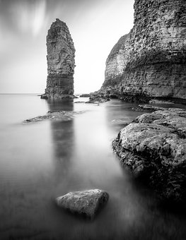 Flamborough Head, Chalk Stack, Yorkshire
