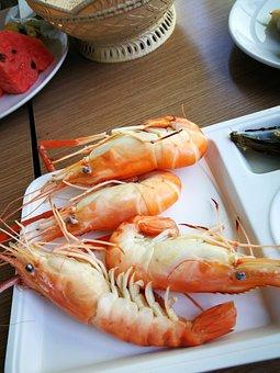 Prawns, Restaurant, Gourmet