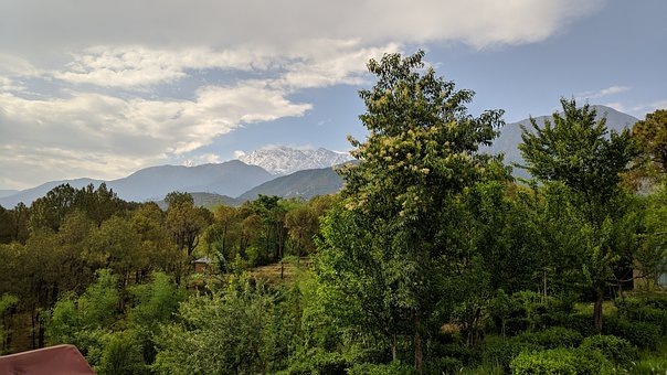 Mountains, Scenery, Landscape, Nature, India, Himachal