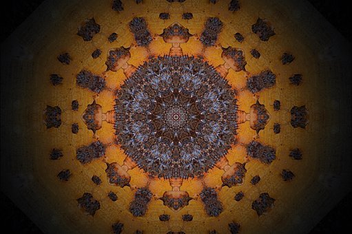 Mandala, Rosette, Abstract, Virtual, Ornament, Decor
