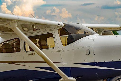 Plane, Propeller, Airplane, Cockpit, Sky, Pilot, Flying