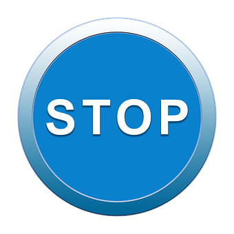 Stop, Icon, Button, Symbol, Sign