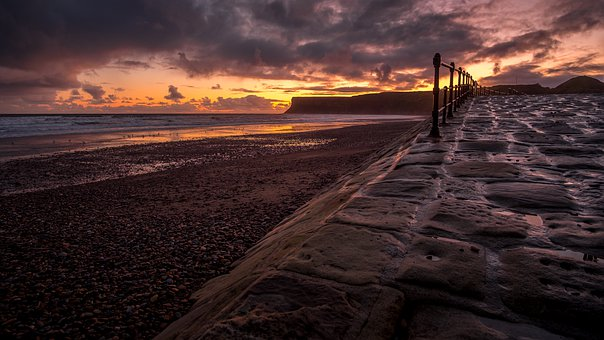 Stone Ramp, Saltburn Beach, Saltburn By The Sea