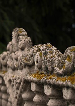 Fence, Old, Retro, Stucco, Texture