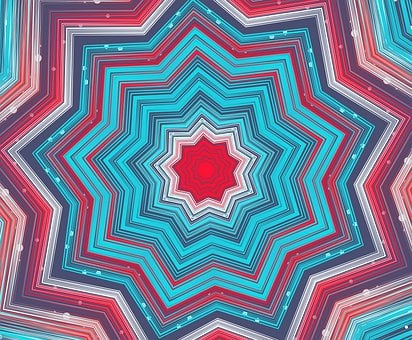 Mandala, Rosette, Abstract, Virtual, Ornament, Decor