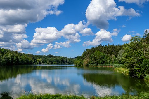 Lake, Water, Rest, Relaxation, Reflection, Mirroring