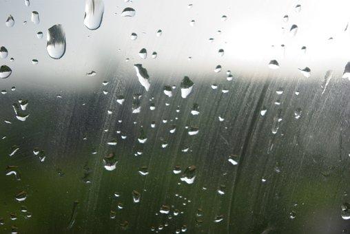 Drops, Glass, Wet, Water, Rain, Window, Weather