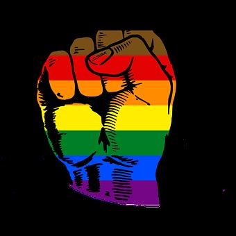 Pride Fist, Power Fist, Human, Peaceful, Diversity, We