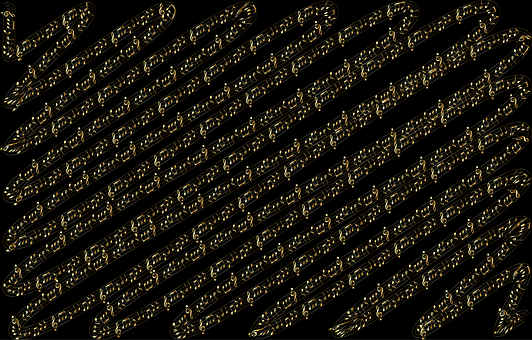 Music, Notes, Partiture, Gold, Sound, Audio, Abstract