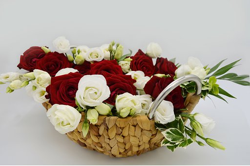 Roses, Petals, Leaves, Buds, Flowers, Bouquet