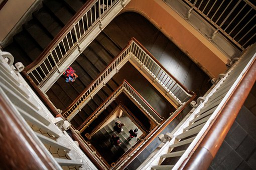 Staircase, Stairs, Stairway, Building, Architecture