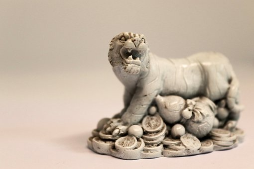 Tiger, Statue, Sculpture, Ornament, Figurine