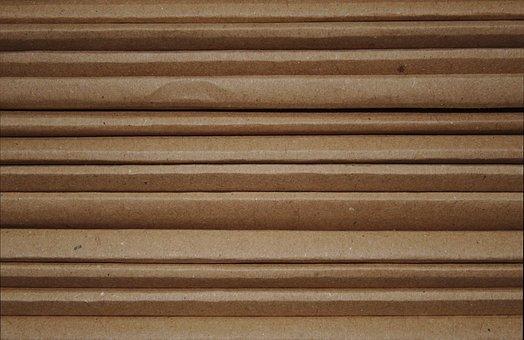 Cardboard, Carton, Pattern, Texture, Recycling