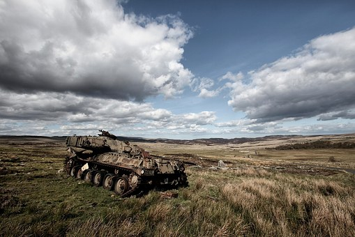 Tank, Military, War, Derelict, Abandoned, Decay