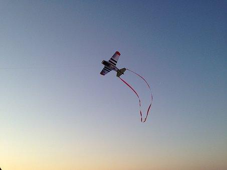 Kite, Sky, Fly, Flying, Plane, Fun, Leisure, Activity