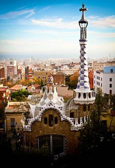 Parc Güell, Gaudí, Spain, Barcelona, Architecture