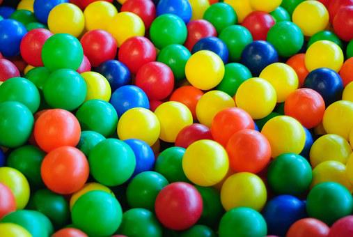 Balls, Toys, Play, About, Plastic, Colorful, Blue