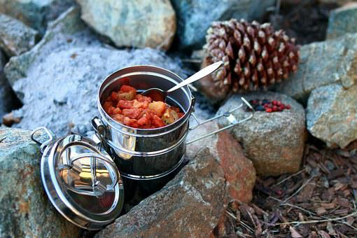 Stew, Camping, Outdoor Cooking, Stainless Steel