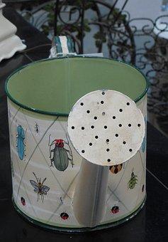 Watering Can, Metal, Watering, Can, Gardening, Water