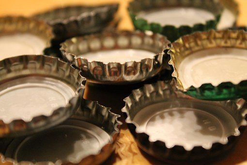 Bottle Caps, Bottle, Closure, Glass, Beer, Glass Bottle
