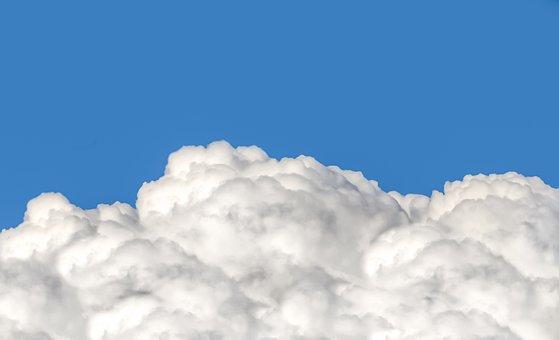 Cloud, Cumulus, Fluffy, Puffy, Cotton, Blue Sky, Sky