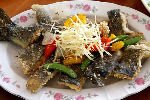 Fish, Taiwanese Cuisine, Deep Fried Fish
