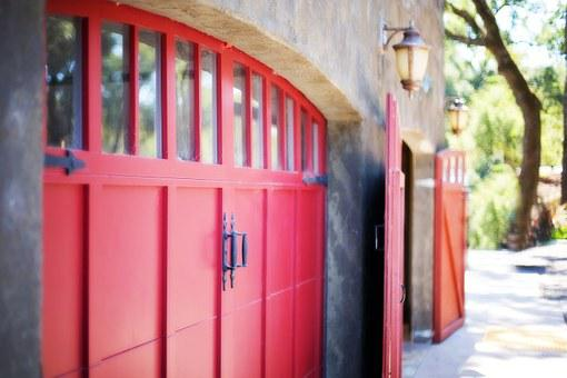 Garage Door, Door, Barn, Coach Doors, Rustic