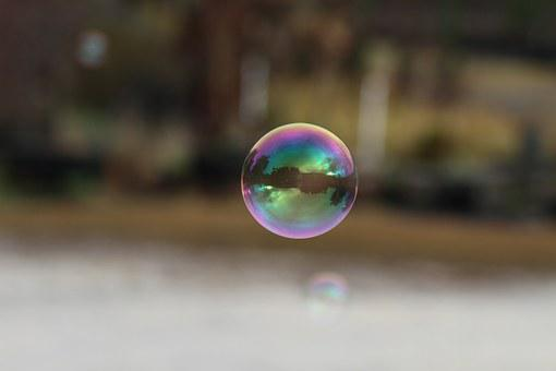 Bubble, Reflection, Drop, Air, Sphere, Round, Floating