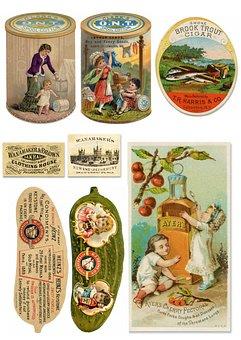 Ephemera, Advertisement, Food, Kitchen, Collection