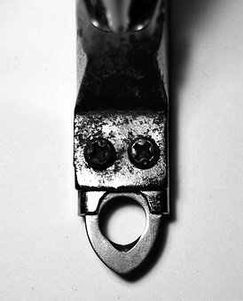 Pareidolia, Face, Tool, Black And White, Cut Nails