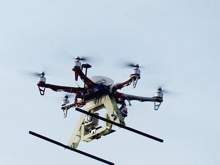 Hexacopter, Helicopter, Model, Camera, Fly, Sky