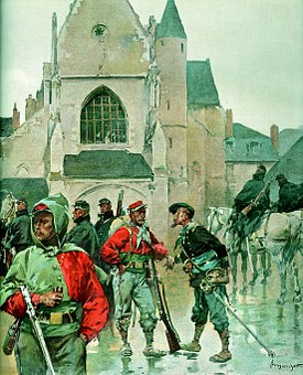 Franco-prussian War, 1870, Garibaldi, Tours