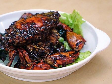 Black Pepper, Crab, Seafood, Gourmet, Cuisine, Asian