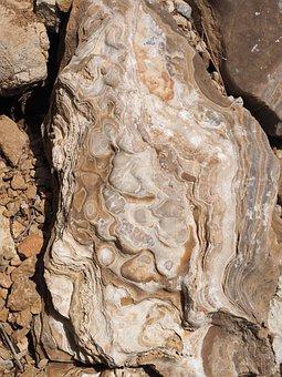 Stone, Rock, Sinter, Deposits, Layer, Quartz