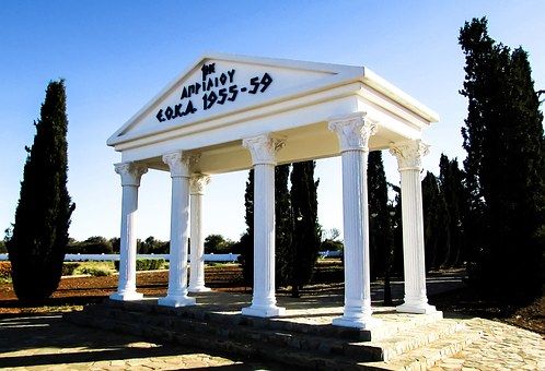 Cyprus, Avgorou, Monument, Eoka, Independence
