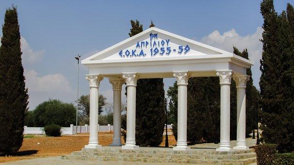 Cyprus, Avgorou, Monument, Eoka, Independence, Memorial