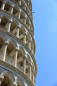 Pisa, Leaning Tower, Italy, Architecture, Tuscany