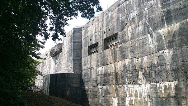 Bunker, Defensive Work, Protection Against Shelling