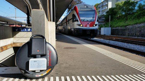 Air Wheel, Mobility, Monocycle, Balancing, Station