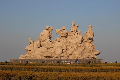 The Scenery, Statue, The Eight Immortals, Penglai