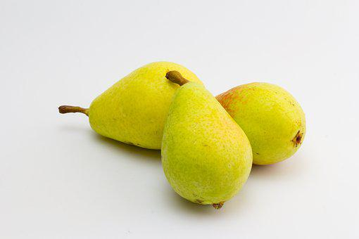 Pear, Fruit, Mature, Yellow, Still Life, Bless You