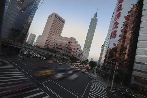 Taiwan, Asia, China, Taipei, Taipei 101, City