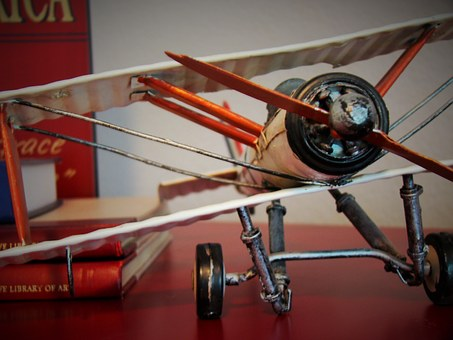 Biplane, Toy, Aircraft, Aviation, Propeller, Vintage