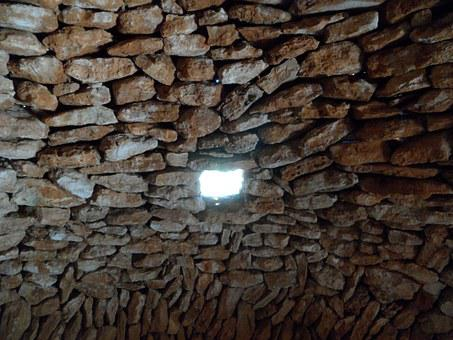 Hole, Window, Wall, Natural Stone, Stone, Building
